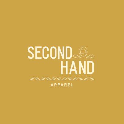 Logo Generator for a Second-Hand Apparel Store 3631i