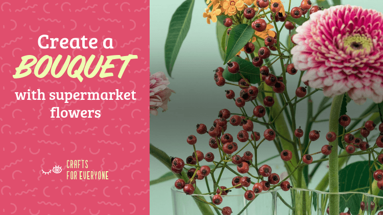 YouTube Thumbnail Maker for a Tutorial to Make a Bouquet 3034l