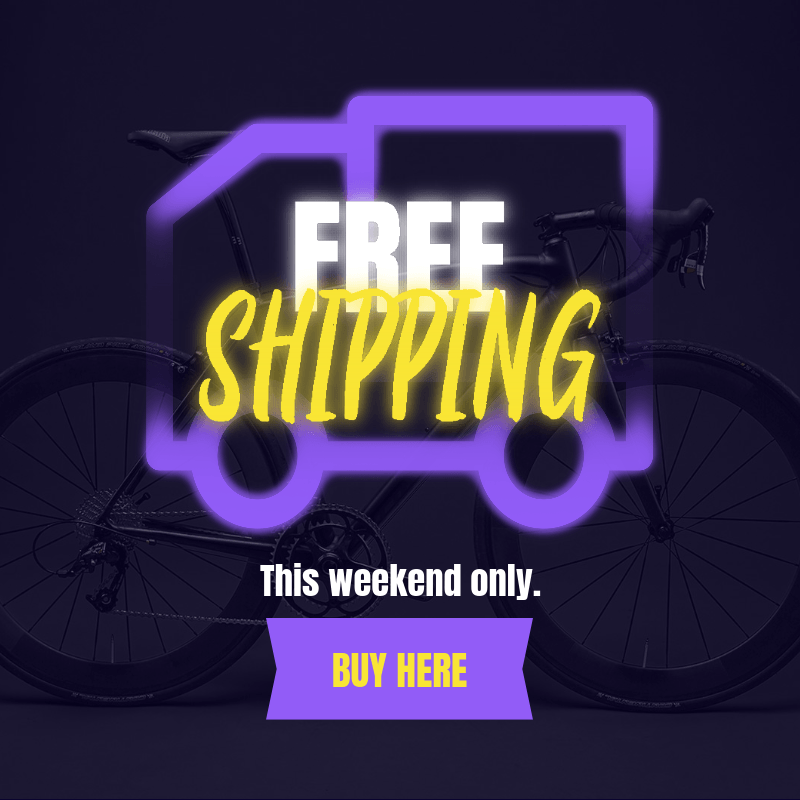 Black Friday Ad Banner Creator Featuring a Free Shipping Promo 3031a