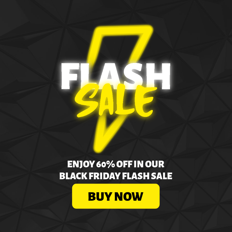 Ad Banner Design Creator For a Flash Sale with a Neon-Lights Style 3031f