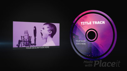 YouTube Ad Video Creator to Promote a Music Album 2340-el1