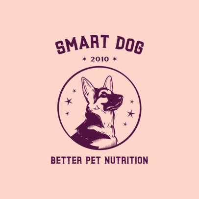 Online Logo Generator for a Dogs' Food Brand 3776g