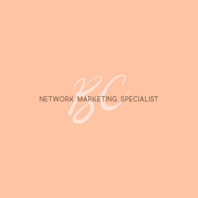 Online Logo Generator for Network Marketing Coaches 3793