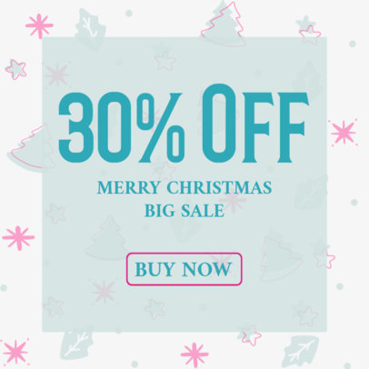 Ad Banner Generator for a X-Mas Special Sale 3088g