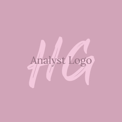 Elegant Logo Template for a Professional Analyst 3793f