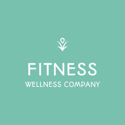 Minimal Logo Generator for a Fitness and Wellness Professional 3815e