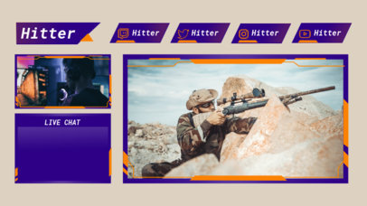 Twitch Overlay Generator for War Video Games 3206a-el1