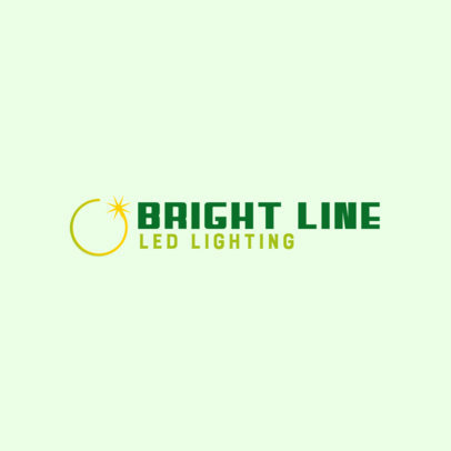 Dropshipping Logo Maker for a LED Lights Business 3868c