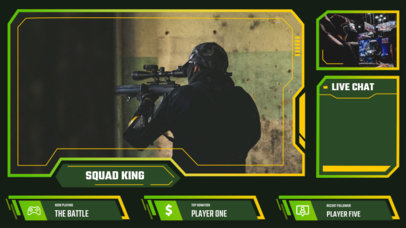 Twitch Overlay Maker for War Games Streamers 3212-el1