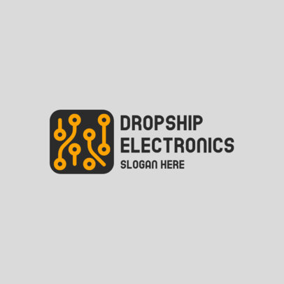 Dropshipping Logo Maker for High-Tech Products Distributors 3911
