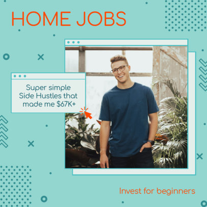 Instagram Post Creator for Tips for Home Jobs 3235a