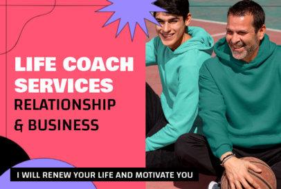 Fiverr Gig Image Maker for a Life Coach 3239b