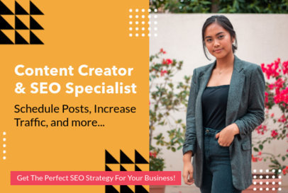 Fiverr Gig Image Template for an SEO Specialist 3239d
