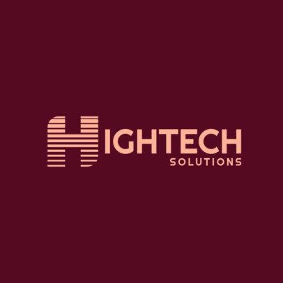 Logo Template for High-Tech Gadget Suppliers 3913g