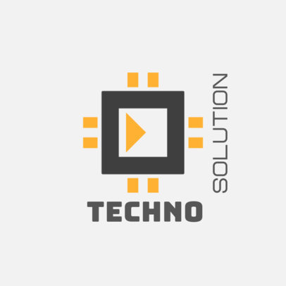 Logo Generator for a Tech Solutions Business 3912i