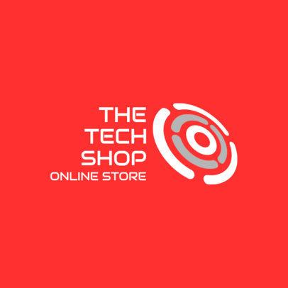 Logo Generator for an Online Tech Store 3911b