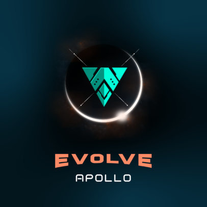 Alien-Inspired Logo Maker with a Powerful Emblem 3916m