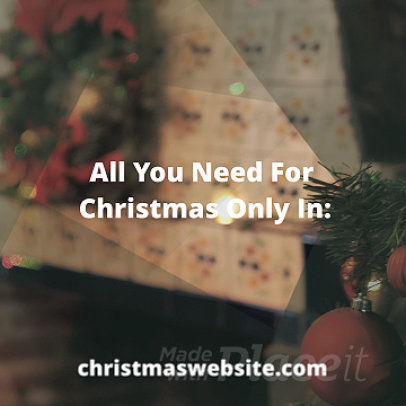 Instagram Post Video Template with a Christmas Theme for a Store 859c-2669