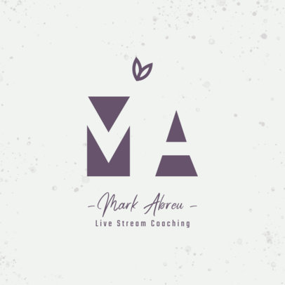 Logo Generator for Online Fitness Coaches Featuring a Minimal Style 3935c
