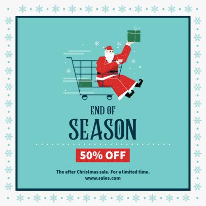 Festive Instagram Post Generator for Christmas Offers 3306-el1