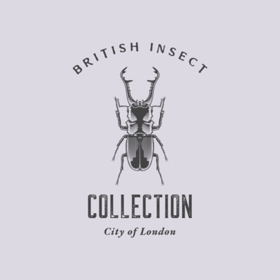 Logo Generator for an Insect Collection 3934d