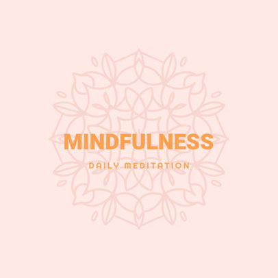 Minimal Logo Creator for a Mindfulness Meditation App 3954b