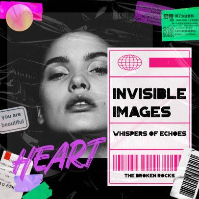 Album Cover Art Maker for an Urban Pop Female Singer 3275f