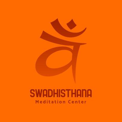 Meditation Center Logo Maker 3952b