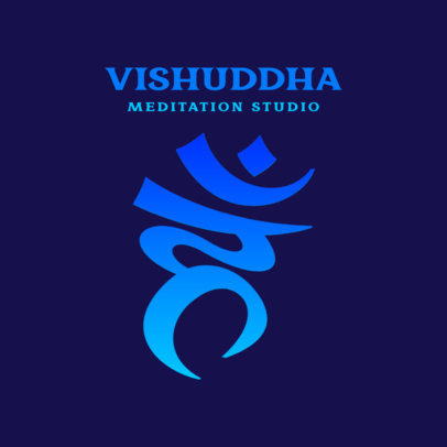Logo Generator for a Meditation Studio 3952e