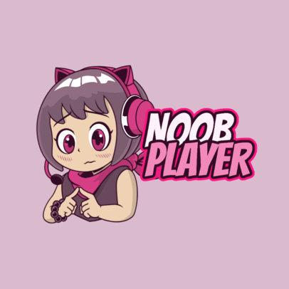 Twitch Emote Logo Maker for a Shy Gaming Streamer 3957g