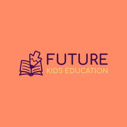Logo Template for a Kids' Online School 3978B