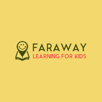 Logo Generator for an Online School for Kids 3978C