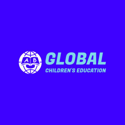 Online Logo Maker for a Children's Education Organization 3978D