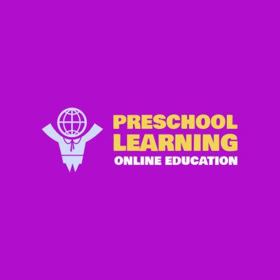 Logo Creator for an Online School for Small Children 3978G