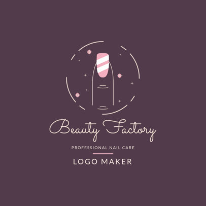 Logo Maker for a Nail Care Business 4041