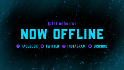 Twitch Offline Banner Maker for a Pro Gaming Channel 3364