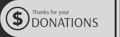 Twitch Panel Generator Featuring a Donation Icon 3367b