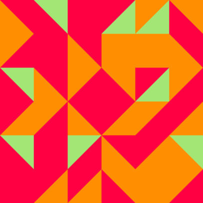 Print Pattern Design Template Featuring Seamless Geometric Shapes 3363d