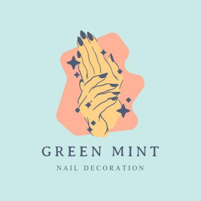 Logo Generator for Nail Art Accessories Brands 4043e