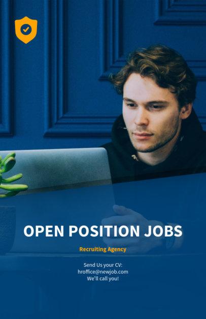 Job Recruiting Flyer Design Maker 516a