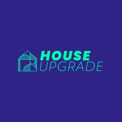 Simple Logo Template for a House Interior Designer 4064d