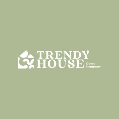 Trendy Logo Maker for a Home Decor Company 4064f