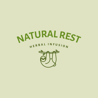 Logo Maker for Natural Sleep Aids Featuring Minimal Illustrations 4084