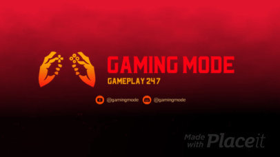Epic Twitch Starting Soon Screen Video Maker with an Animated Gamer Controller 2636