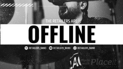 Twitch Offline Screen Video Maker for a Rock Band 2659