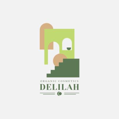 Dreamy Logo Creator for Organic Cosmetics 3587b-el1