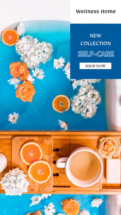 Instagram Story Generator for a Self-Care Product Collection 3567b-el1