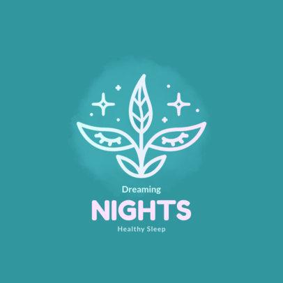 Elegant Logo Maker for Healthy Sleep Aid Supplies 4086f