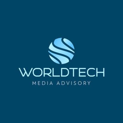 Technology Logo Generator for Media Consulting Companies 597c-el1