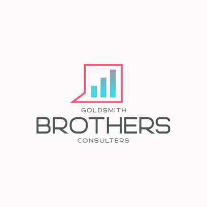 Online Logo Template for Business Consulting Firms 4109a